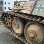 Panzer V Panther WWII Houffalize Belgique