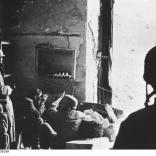 Monte Cassino, Fallschirmtruppe im Gefechtsstand