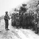 Monte Cassino, deutsche Kriegsgefangene