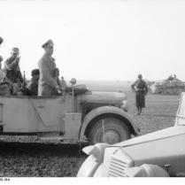 Nordafrika, Erwin Rommel bei italienischen Truppen