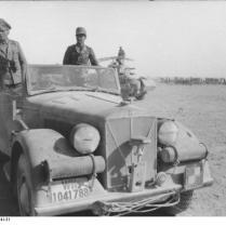 Nordafrika, Erwin Rommel in PKW