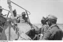 "Rommel im Befehlsfahrzeug ""Greif"""