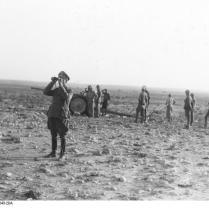 Nordafrika, Rommel mit Fernglas