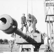 "Russland, Reparatur Panzer VI ""Tiger I"""