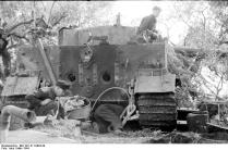 Italien, Panzer VI (Tiger I), Reparatur
