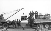 Kreta, Panzer VI (Tiger I), Reparatur