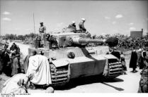 Tunesien, Panzer VI (Tiger I)