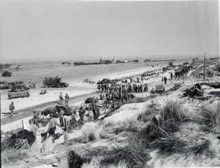 Utah beach Overlord 1944 Normandia WWII