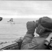 Eismeer, U-Boot, Beobachtungsposten
