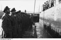 St. Nazaire, U-96 einlaufend