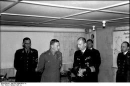 Lorient, Viktor Lutze und Karl Dönitz