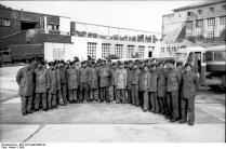 Frankreich, Brest, U-Boot-Besatzung