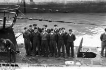 St. Nazaire, U-Boot einlaufend
