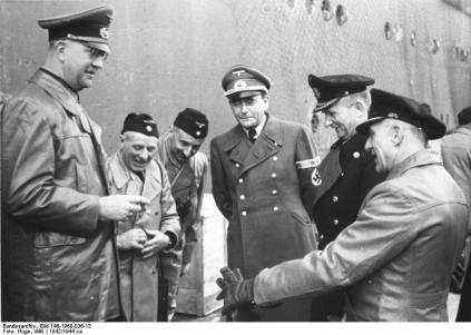 Fromm, Speer, Dönitz und Kehrl