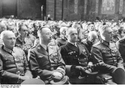 Trauerfeier für Generaloberst Hans Hube
