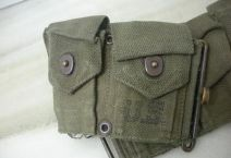accesorio militar-cinturon portacargador Garant M1923-USA-Vietnam-3