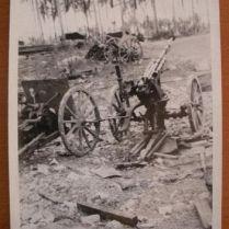 documento militar-fotografias frente Pacífico-USA-WWII-1