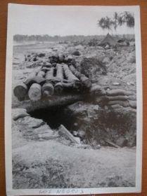 documento militar-fotografias frente Pacífico-USA-WWII-2