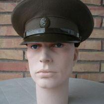 gorra militar-gorra plato oficial infanteria-URSS-Guerra Fría-1