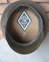 gorra militar-gorra plato oficial infanteria-URSS-Guerra Fría-3