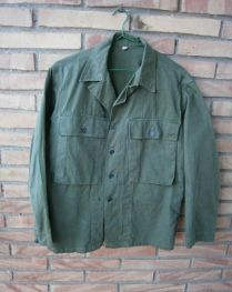 ropa militar-chaqueta Fatigue HBT-USA-WWII 1