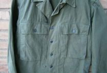 ropa militar-chaqueta Fatigue HBT-USA-WWII 2