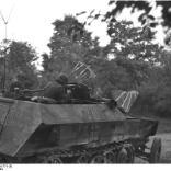 Arnheim, Schützenpanzer im Einsatz