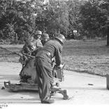Arnheim, deutsches 2 cm Flakgeschütz
