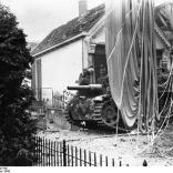 Arnheim, getarntes Sturmgeschütz
