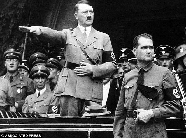 Rudolf Hess Alemania WWII militaria lagleize1944