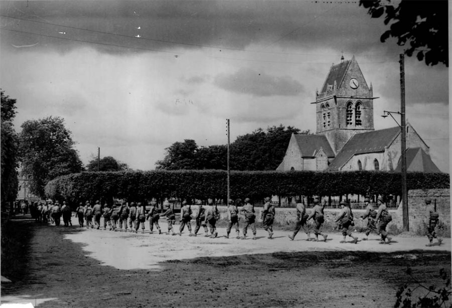 Saint-Lô Carentan Saint-Mère Eglise Normandy
