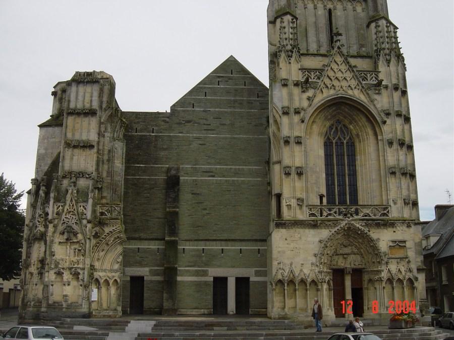 Saint-Lô Carentan Saint-Mère Eglise Normandy