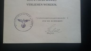 documento militar-concesion invierno frente este-alemania-WWII 3
