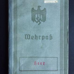 documento militar-wehrpass-aleman-WWII-1