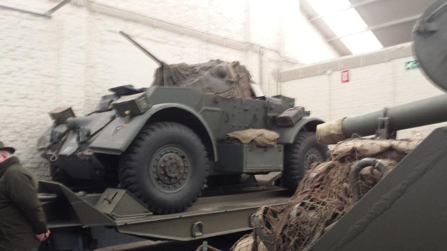Vehicle Exibition Hall Bastogne Belgium