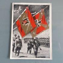 documento militar-tarjeta postal-España-Guerra Civil 1