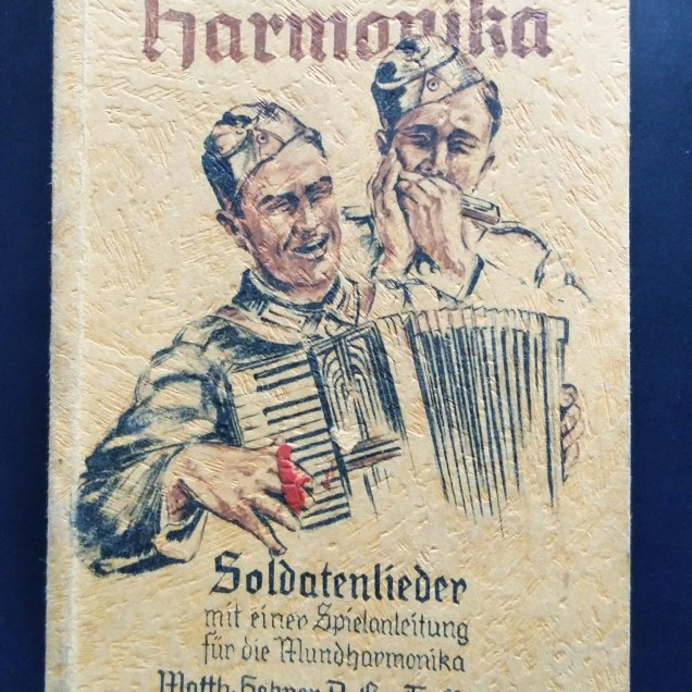 libro militar-cancionero armonica-Alemania-WWII (1)
