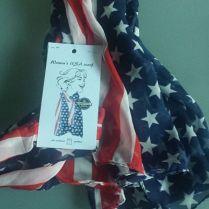 ropa militar-pañuelo cuello chica-USA 1