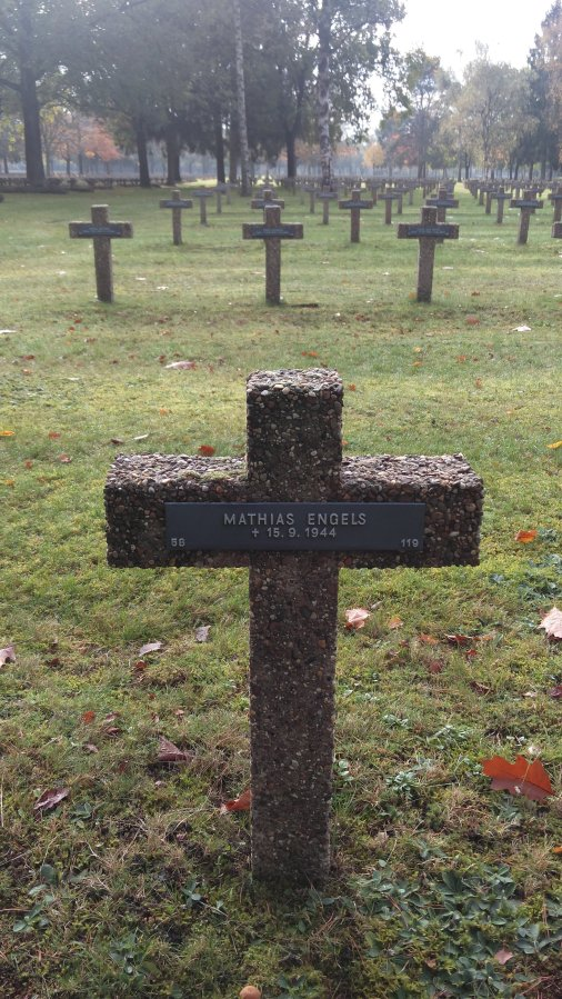 cementerio militar Alemán Lommel Bélgica WWII