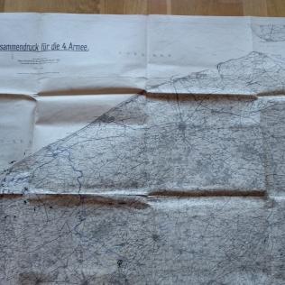 documento militar kaiserschlacht Alemania WWI